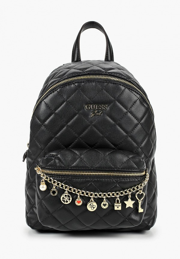 рюкзак guess для девочки, черный