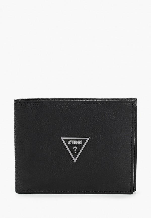 мужской кошелёк guess, черный