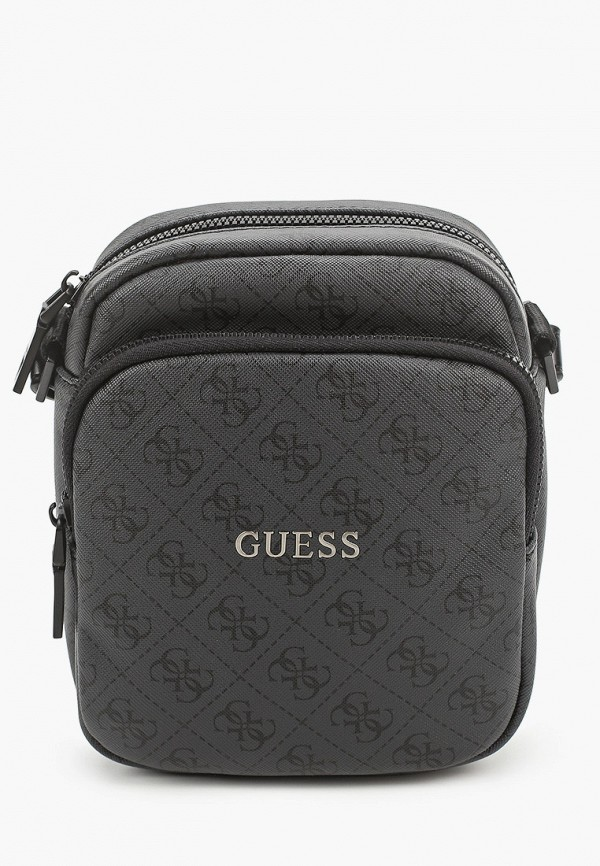 мужская сумка guess, серая