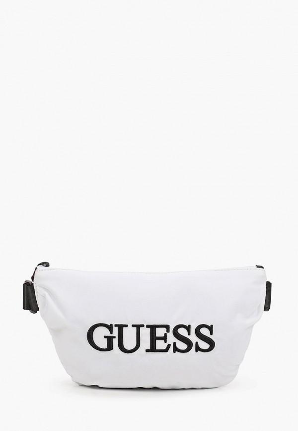 мужская сумка guess, белая