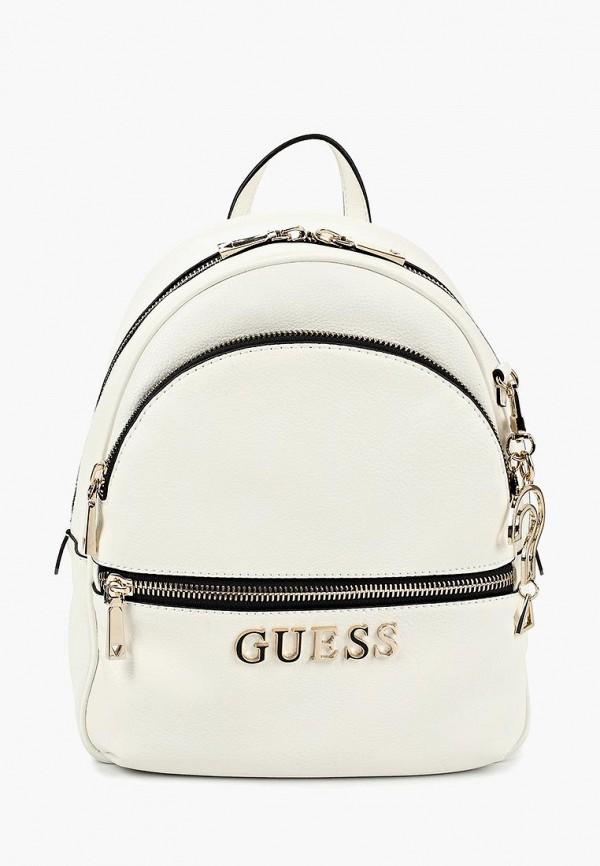 Купить Рюкзак Guess, gu460bwbkzr9, белый, Осень-зима 2018/2019