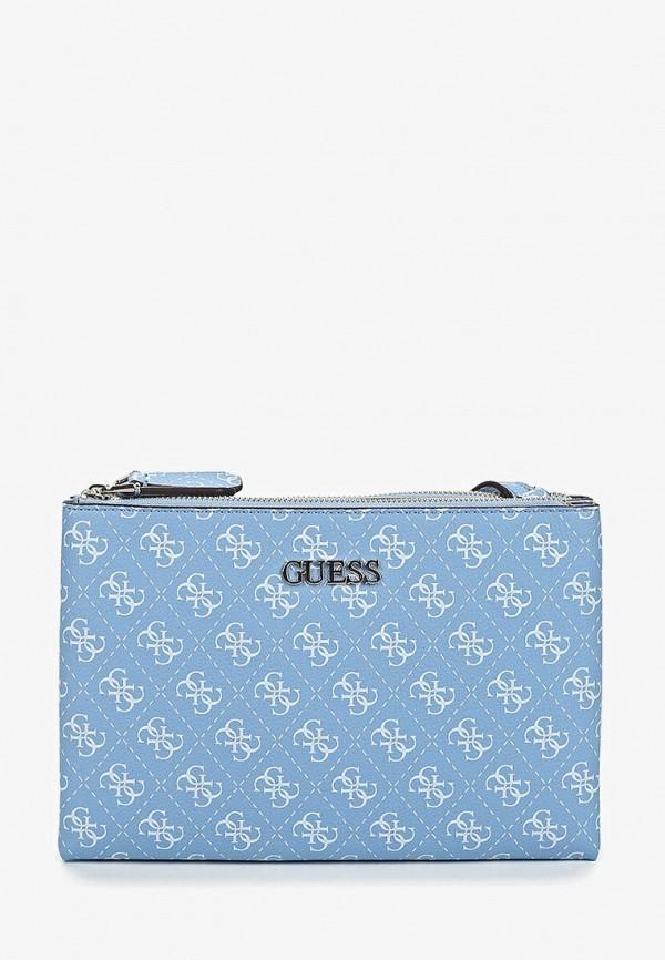 Купить Сумка Guess, gu460bweani6, голубой, Весна-лето 2019
