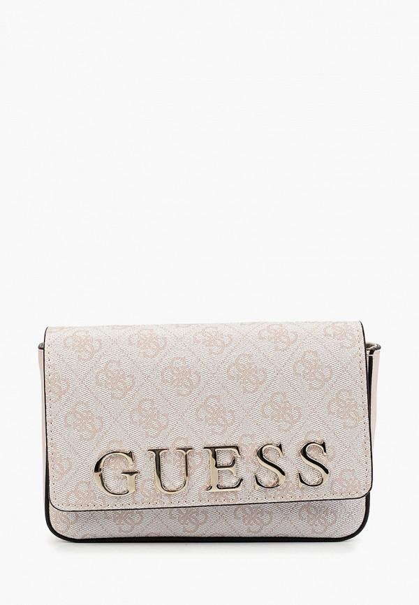 Сумка поясная Guess Guess GU460BWFNLV5 сумка поясная guess guess gu460bwfnlv6