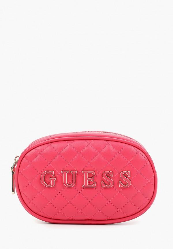 Сумка поясная Guess Guess GU460BWFNMB0 сумка поясная guess guess gu460bwfnlv6