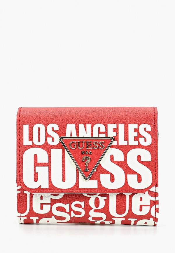 Кошелек Guess Guess GU460BWFNME8 кошелек guess guess gu460bwzod31