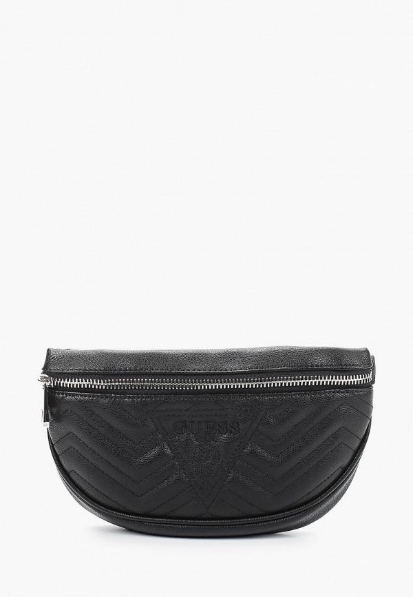 женская сумка guess, черная