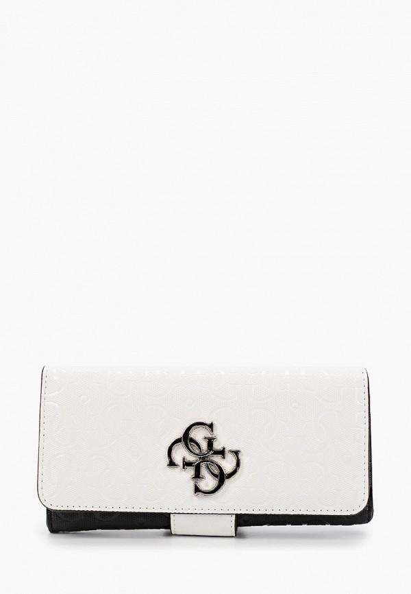 женский кошелёк guess, белый