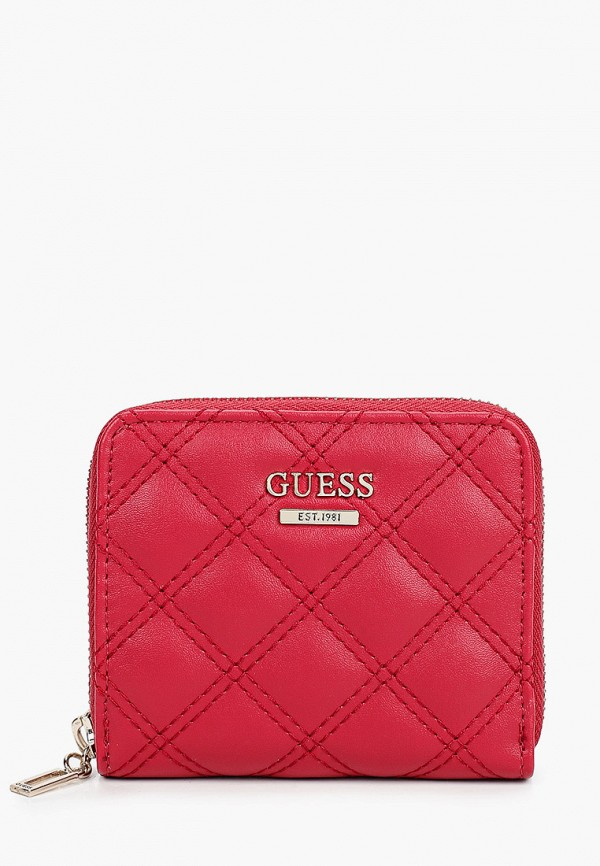 женский кошелёк guess, красный