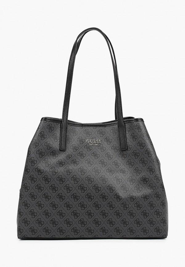женская сумка guess, серая