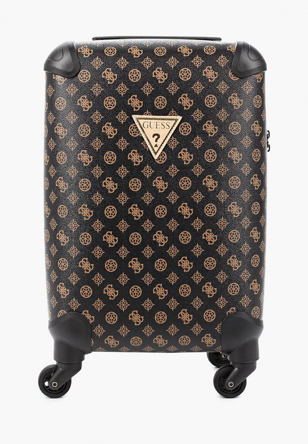 женский чемодан guess, черный