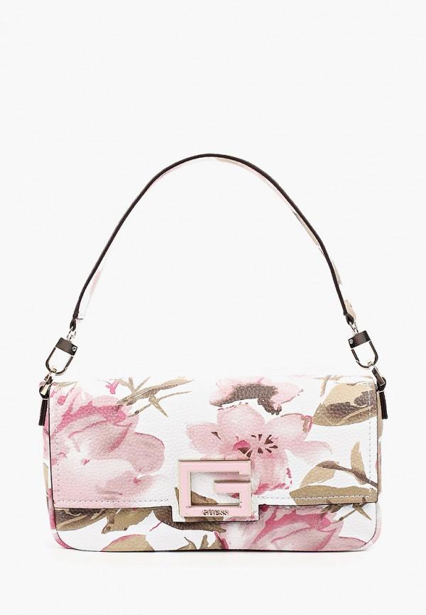 женская сумка guess, разноцветная