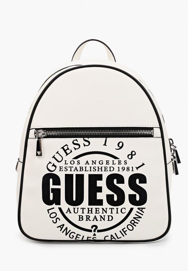 женский рюкзак guess, белый