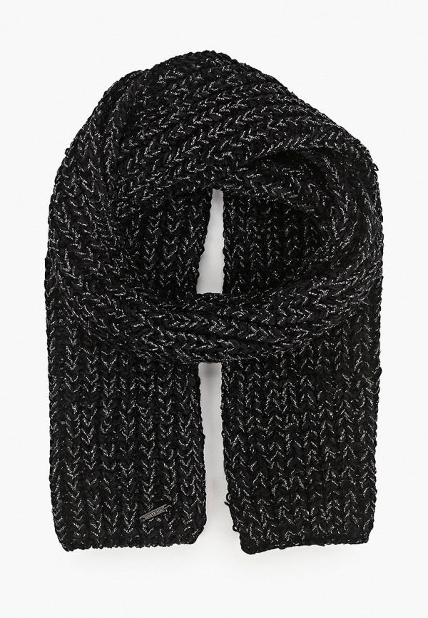 шарф guess для девочки, черный