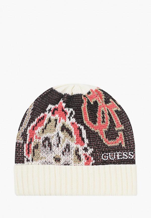 женская шапка guess, разноцветная