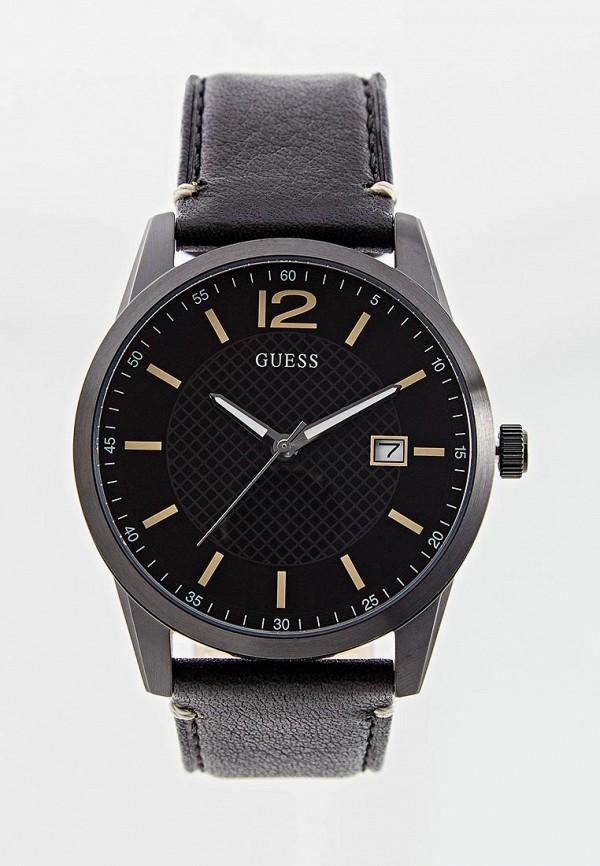 мужские часы guess, черные