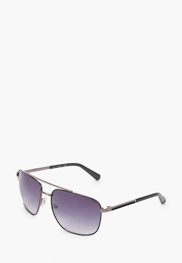 мужские солнцезащитные очки guess, серые