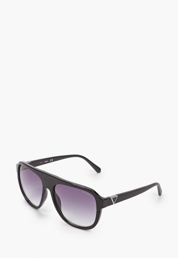 мужские солнцезащитные очки guess, черные