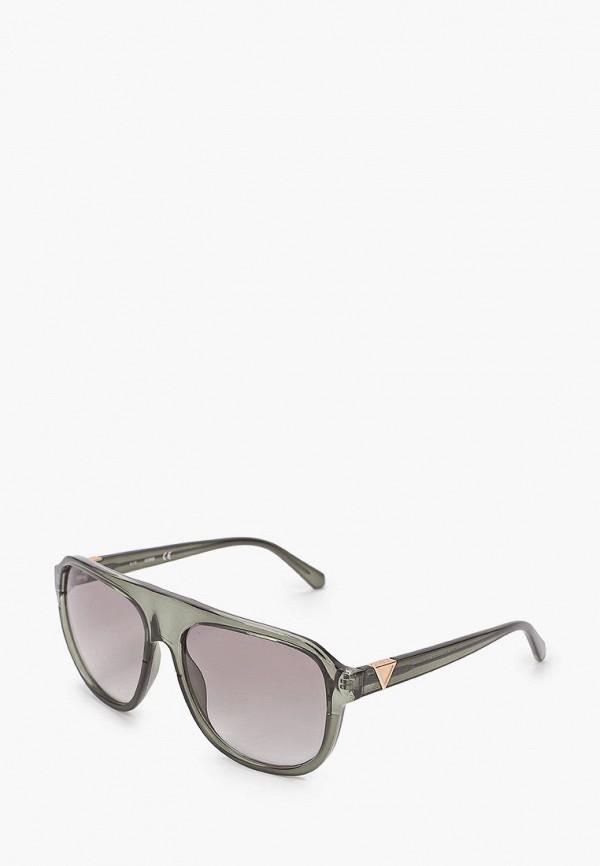 мужские солнцезащитные очки guess, зеленые