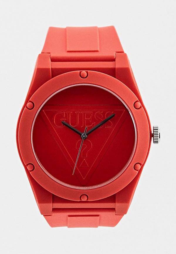 женские часы guess, красные