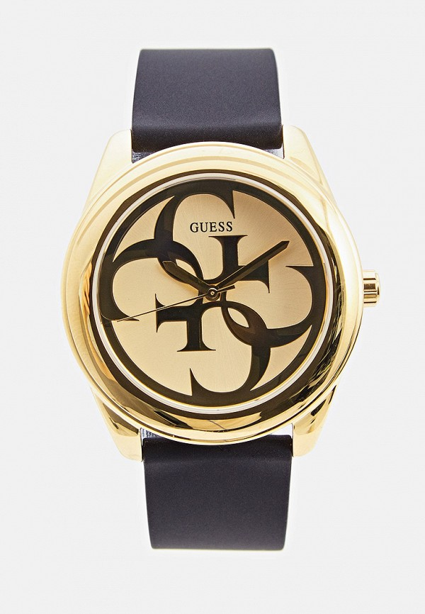 женские часы guess, золотые