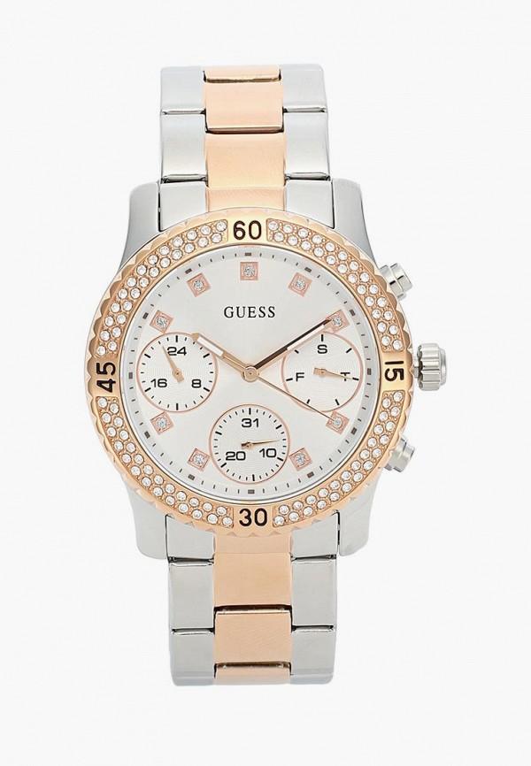 Купить Часы Guess, GU460DWBFYN5, серебряный, Осень-зима 2018/2019