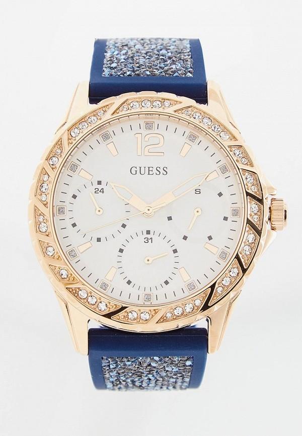 женские часы guess, синие