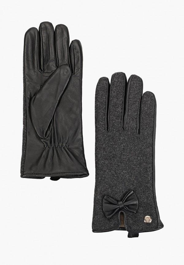 женские перчатки guess, серые