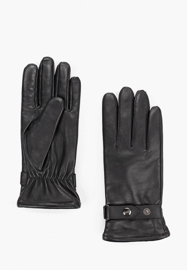 женские перчатки guess, черные