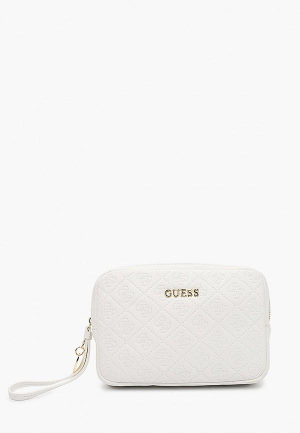 женская поясные сумка guess, белая