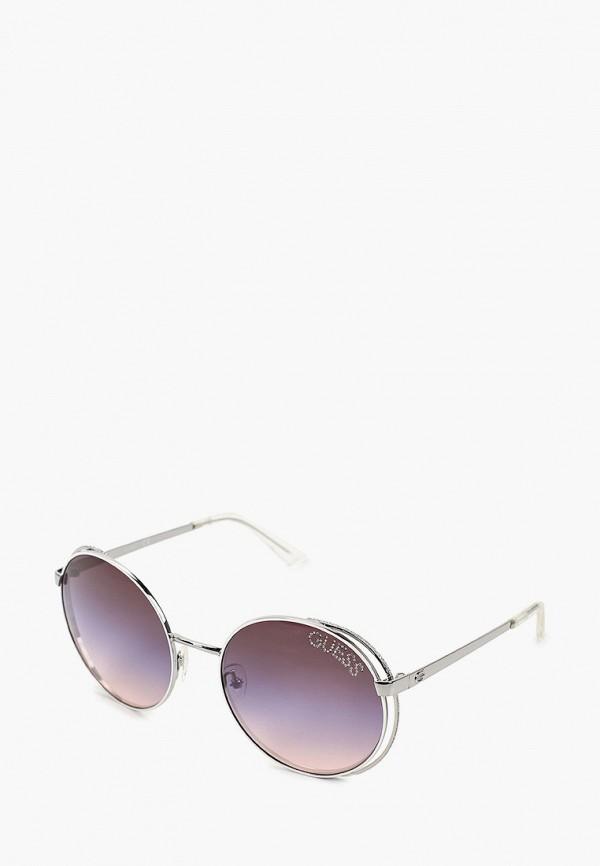 женские круглые солнцезащитные очки guess, разноцветные