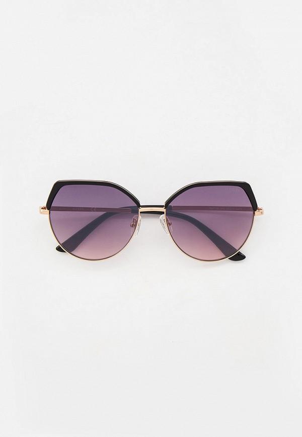 женские солнцезащитные очки guess, золотые