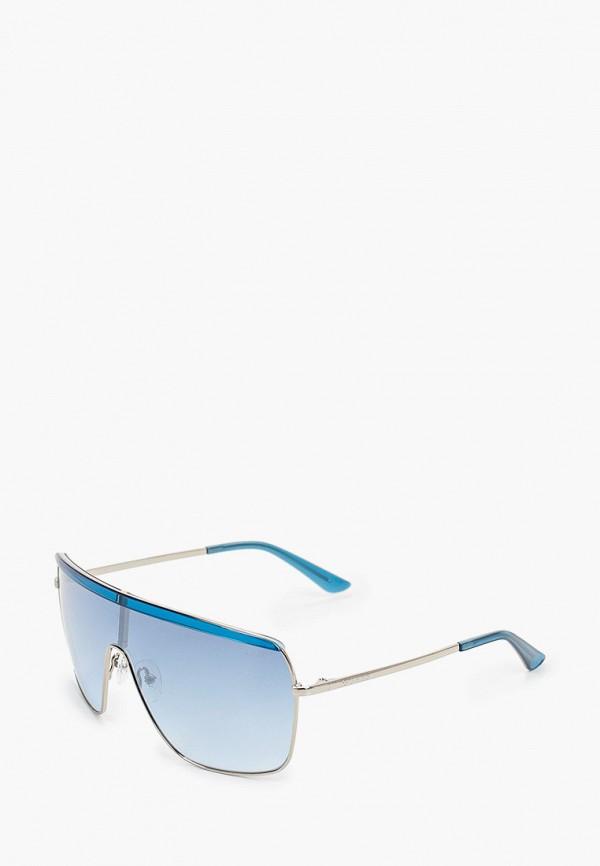 женские солнцезащитные очки guess, голубые
