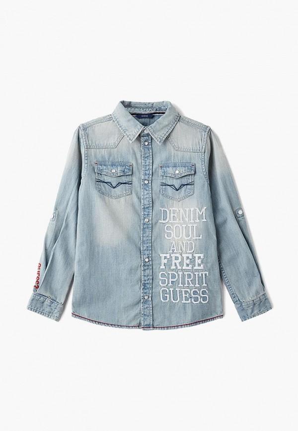 Рубашка джинсовая Guess Guess GU460EBBUAY4 рюкзак guess gsb1411j001