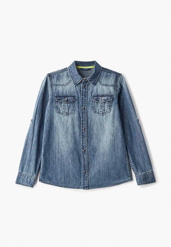 Рубашка джинсовая Guess Guess GU460EBDKRU6 рубашка джинсовая guess guess gu460ebcfrs9
