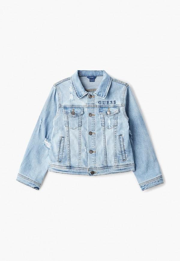 Куртка джинсовая Guess Guess GU460EBEANA0 guess джинсы