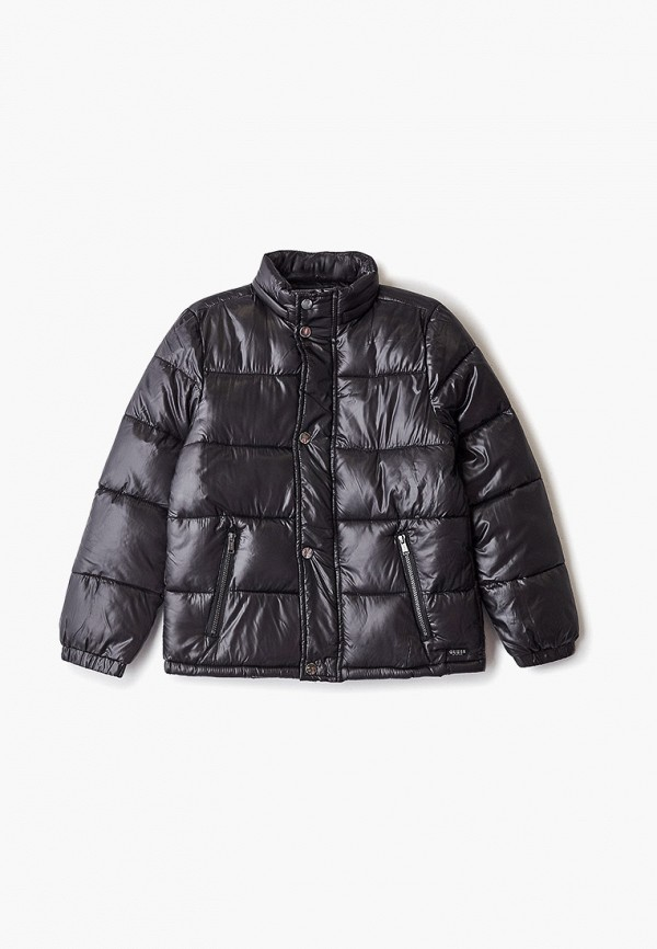 куртка guess для мальчика, черная