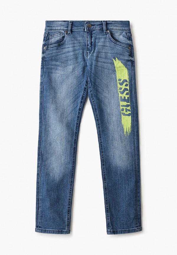 джинсы guess для мальчика, голубые