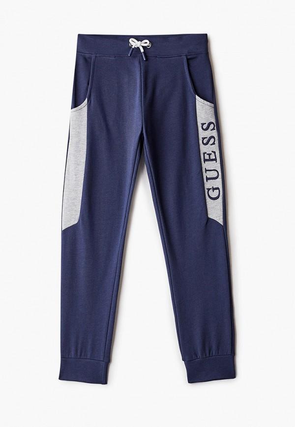 спортивные брюки guess для мальчика, синие