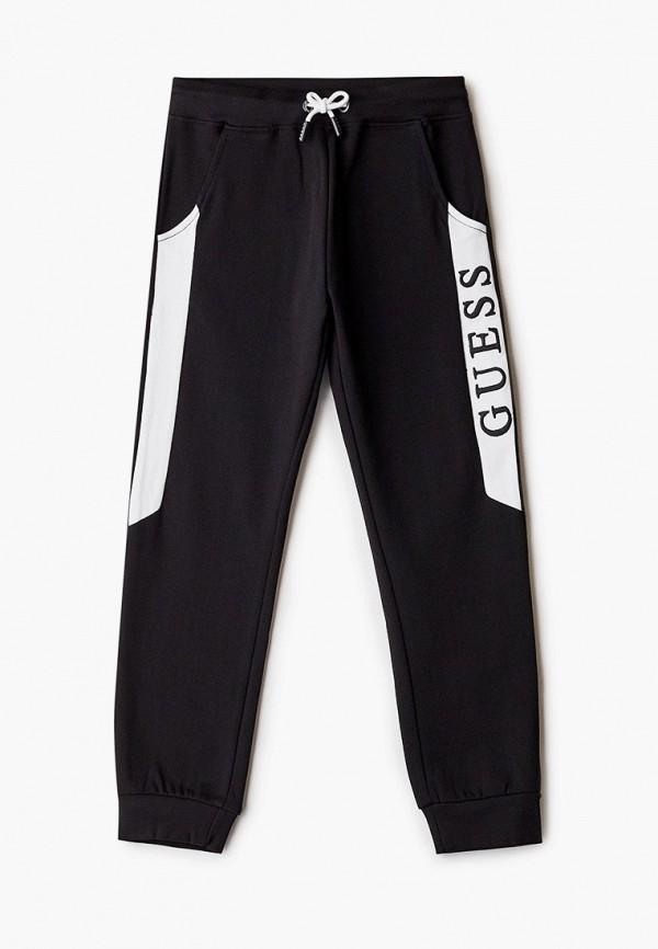 спортивные брюки guess для мальчика, черные