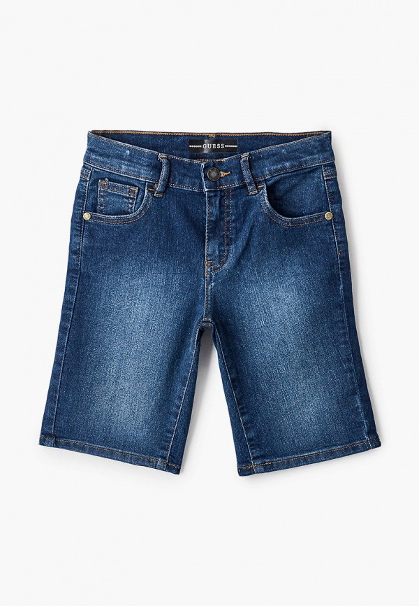 джинсовые шорты guess для мальчика, синие