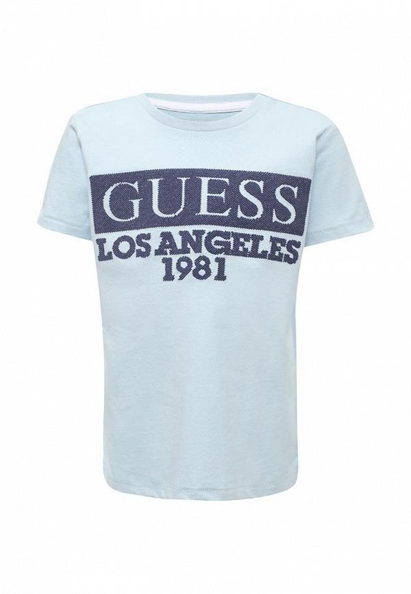 Футболка Guess Guess GU460EBZNF19 guess футболка