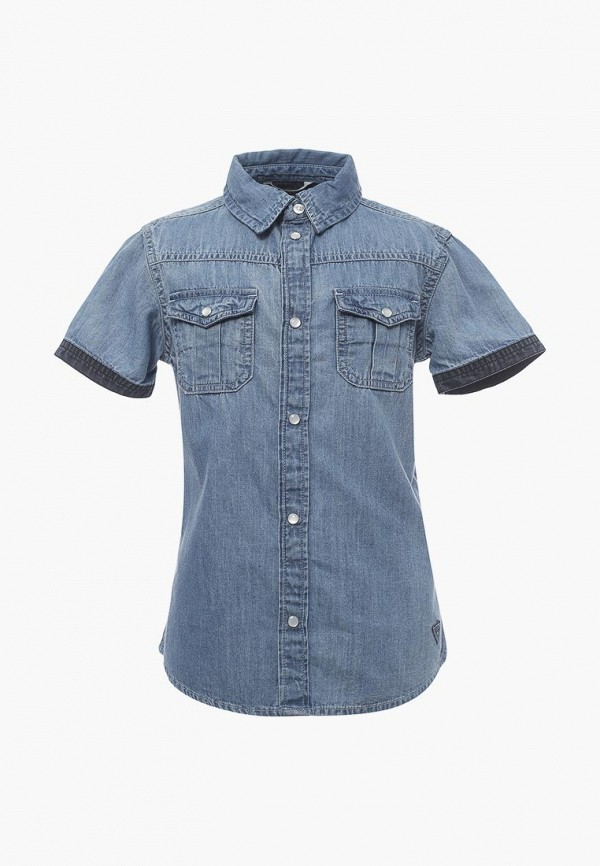 Рубашка джинсовая Guess Guess GU460EBZNJ30 guess джинсы