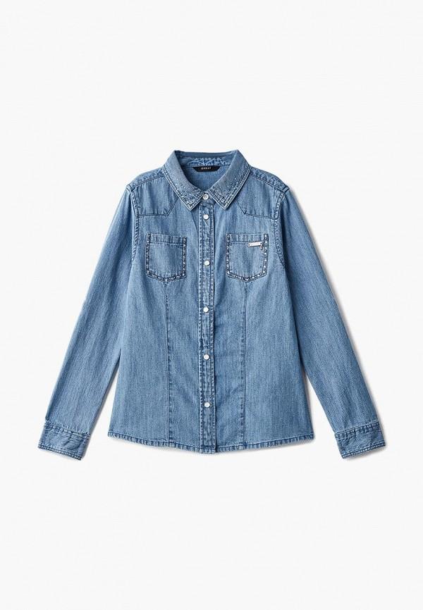 Купить Рубашка джинсовая Guess, gu460egcfrr7, голубой, Осень-зима 2018/2019