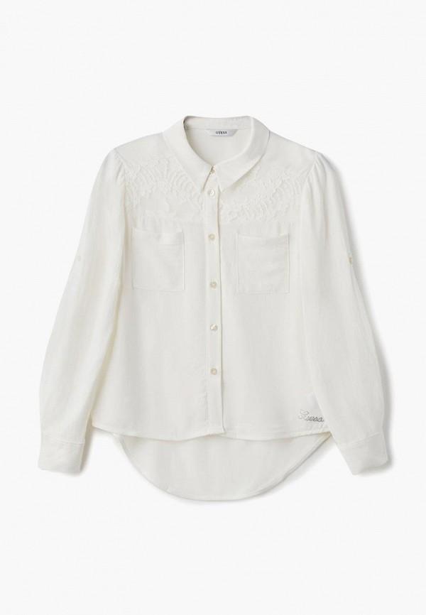 Купить Блуза Guess, GU460EGCFRR8, белый, Осень-зима 2018/2019
