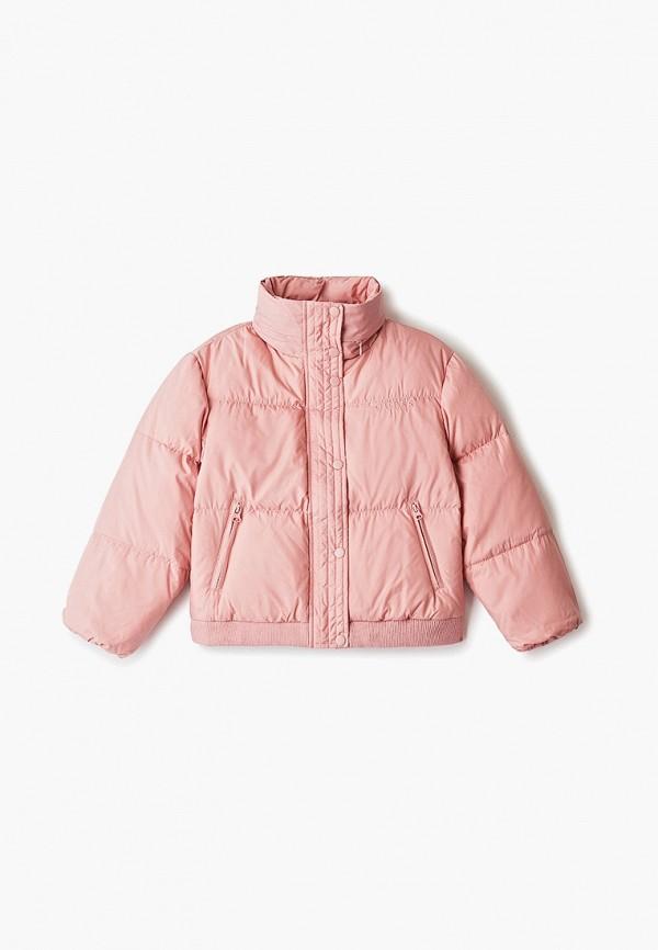 куртка guess для девочки, розовая
