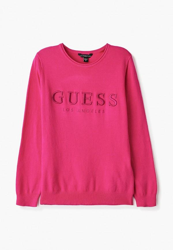 свитшот guess для девочки, розовый