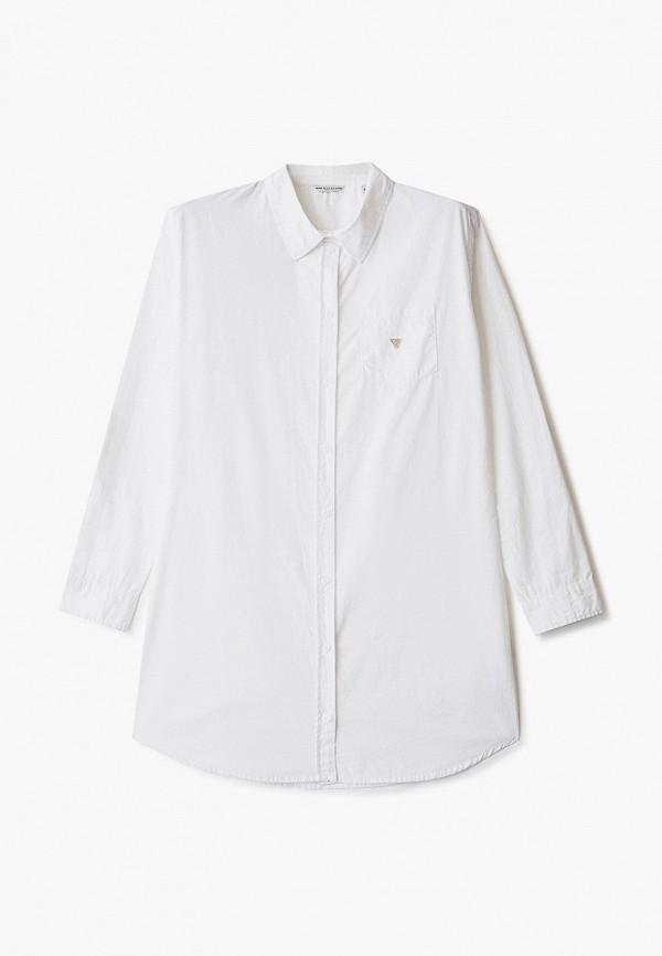 рубашка guess для девочки, белая
