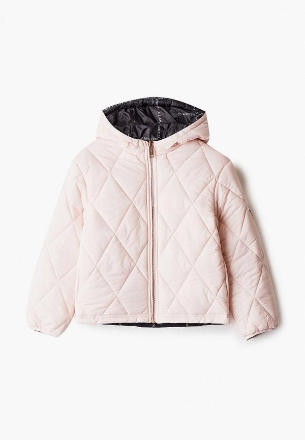 куртка guess для девочки, разноцветная