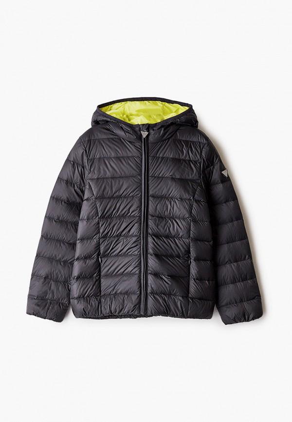 куртка guess для девочки, черная