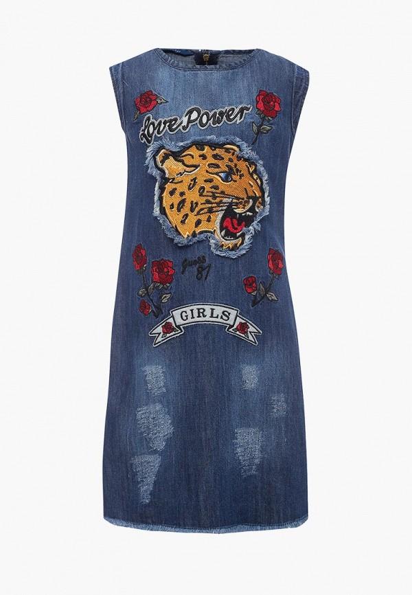 все цены на Платье джинсовое Guess Guess GU460EGZNE05 онлайн